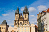 Prague.Czech Republic. Tyn Church. — ストック写真