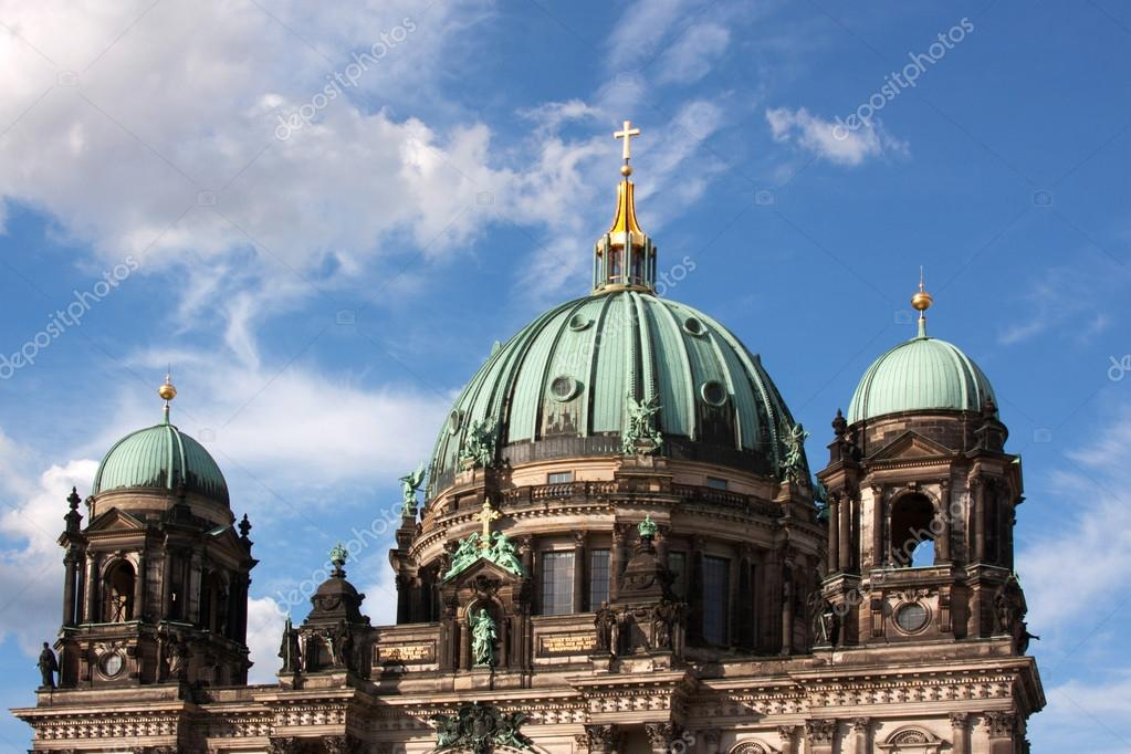 Dome of the Berlin Cathedral, Berlin, Capital, Germanyfotografiert im Juni 2012 — Stock Photo #12865450