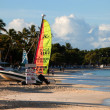 Stock Photo: Dickenson Bay, Antigua