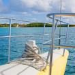 Stock Photo: Catamaran tour to Antigua