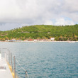 Catamaran tour to Antigua — Stock Photo