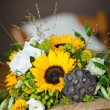 Pretty wedding bouquet — Stock Photo