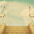 Stairs leading to the sky — Stock Photo
