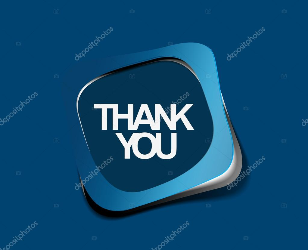 Thanks you sticker design. vector illustration.  — Stock Vector #12104279