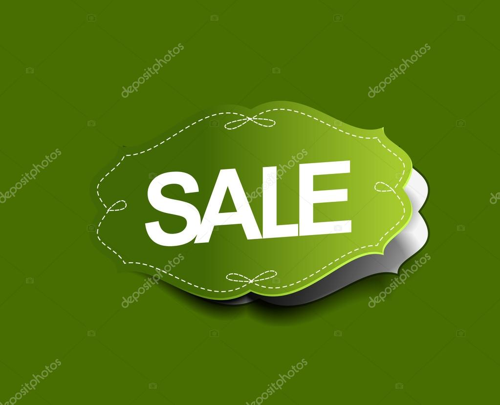 Sale stickers design. Vector Illustration  — Stockvectorbeeld #12104322