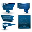 Vector de stock : Style banner elements