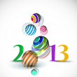 New year 2013 — Stock Vector #14129732