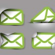 Email icons design — Stock Vector #14129789