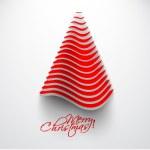 Merry christmas tree design — Stock Vector #14130205