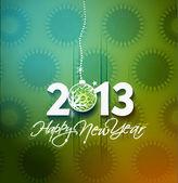 Año nuevo 2013 — Vector de stock