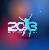 New year 2013 — Stockvektor