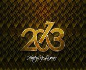 новый год 2013 — Cтоковый вектор