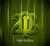 New Year 2013 — Vector de stock