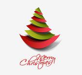 Modern christmas background — Stock Vector