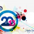 Happy new year 2013 - Imagen vectorial