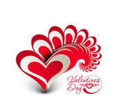 Valentins Day background — Stock Vector