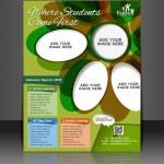 Vector business brochure, flyer, magazine cover & poster template — Stock Vector #26802675