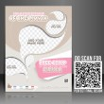 Vector Pizza Shop flyer, magazine cover & poster template. — Stock Vector