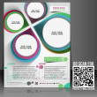 Architecture & Interior Decorator Flyer Template — 图库矢量图片