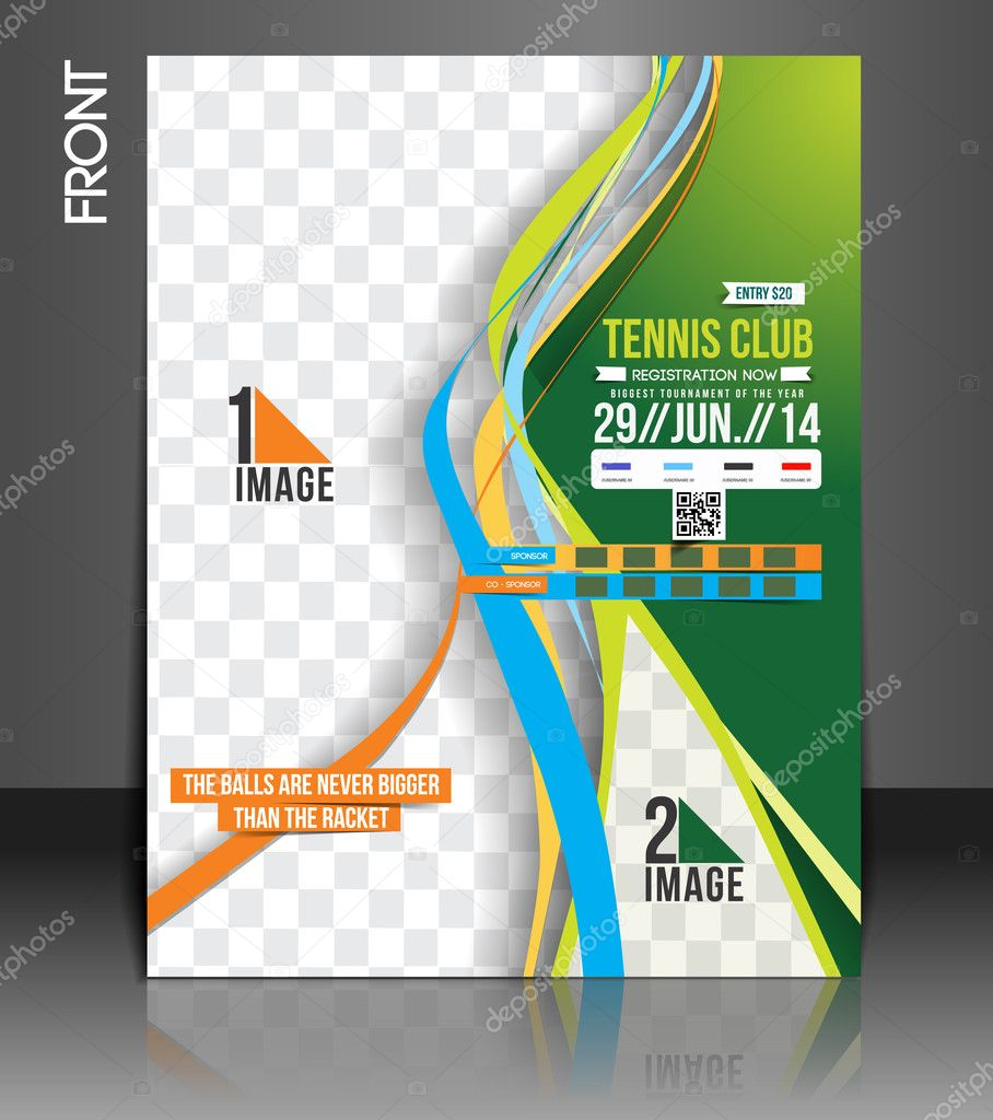 Tennis Competition Flyer Template Vector redshinestudio – Competition Flyer Template