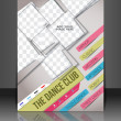 Dance Club Flyer & Poster Cover Template — Vettoriali Stock