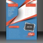 Fitness Center Flyer & Poster Template — Stock Vector