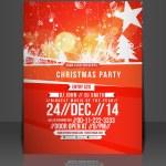 Vector Christmas Flyer Magazine Cover & Poster Template — Stock Vector #33946529