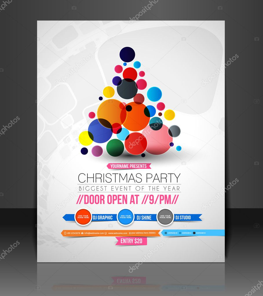 vector christmas flyer magazine cover poster template stock vector christmas flyer magazine cover poster template stock vector 35226593