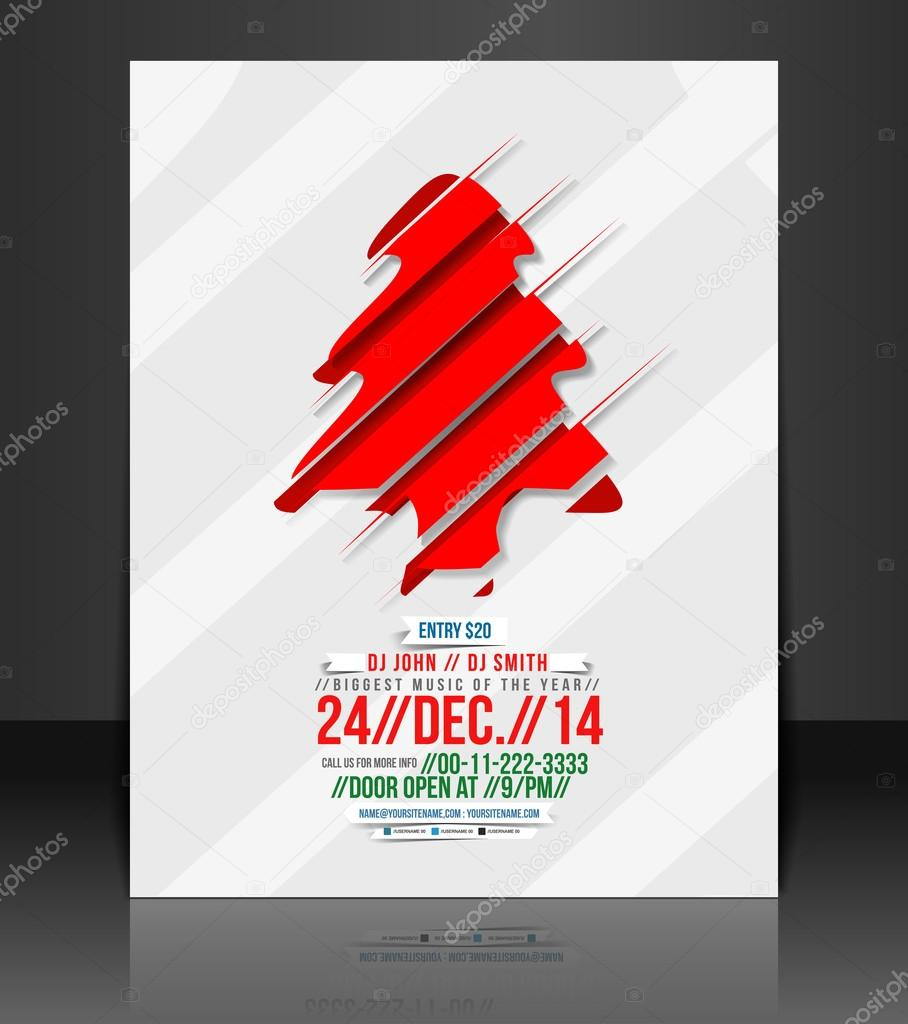 vector christmas flyer magazine cover poster template stock vector christmas flyer magazine cover poster template stock vector 35227313