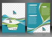 Architecture & Interior Decorator Flyer Template — Stockvector