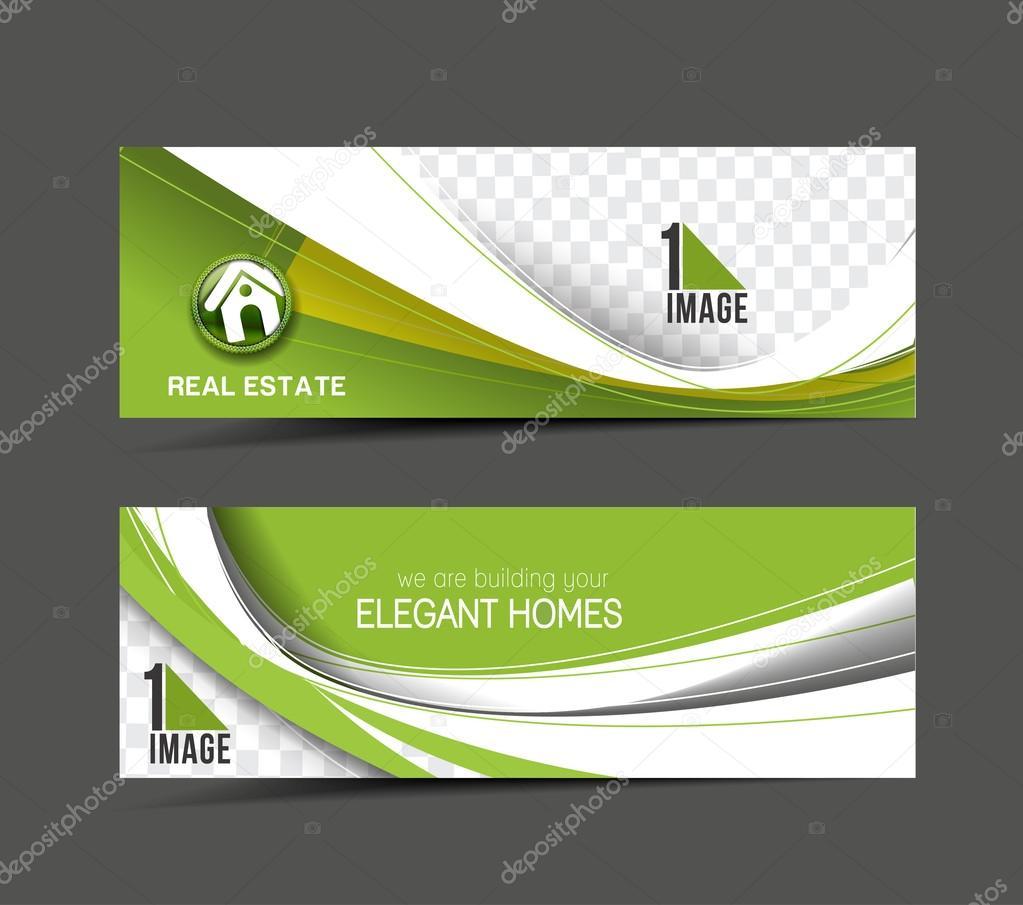 Architecture & Interior Decorator Header & Banner — Stock Vector ...