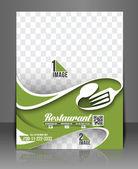 Restaurant & Hotel Menu Card — Stock Vector