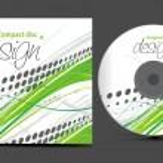 Cd cover design — Stock Vector #4480741