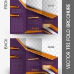 Fashion Tri-fold Brochure Design — Stock Vector #45955335