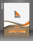 The International School Flyer — Stock Vector