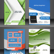 Fitness Center Front Flyer & Poster Template — Stock Vector