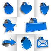 Sticker Design — Stock Vector