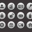 Set of Business Icons — Stock Vector #5735537