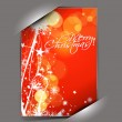 Greetings card for xmas — Stock Vector #8125192