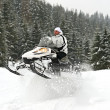 Snowmobile — Stock Photo #20437249