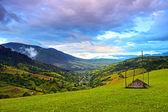 山の夕景 — ストック写真