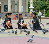 ローブで大学卒業 — ストック写真