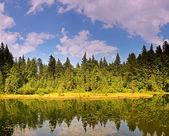 "Travel on mountain tops ""Carpathians"" — Stock Photo"