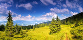 Mountain scenery — Stock Photo