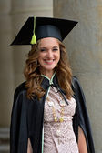 A university graduate — Stock Photo