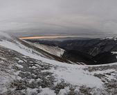 山では、冷ややかな日 — ストック写真