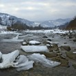 The mountain river in winter — Stock Photo #38216049