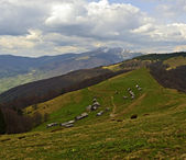 Mountain Carpathian landscape — Stock Photo