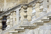 Stone steps in Pidhirtsi Castle — Foto Stock