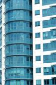 Fachada de modernos arranha-céus — Fotografia Stock